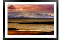 Isle Of Arran, Framed Mounted Print