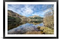 Loch Eck Reflection, Framed Mounted Print