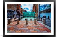 Buchanan Street Subway Entrance, Framed Mounted Print