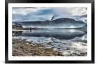 Corpach and the Nevis Range, Framed Mounted Print