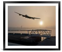The Dambusters: last one home, Framed Mounted Print