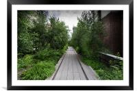 High Line NYC, Framed Mounted Print