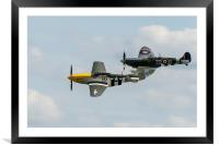 D-Day duo, Framed Mounted Print
