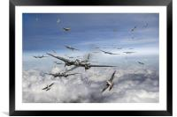 Battle of Britain Day , Framed Mounted Print