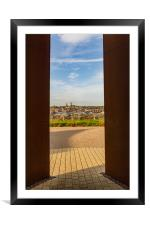 Lincoln Cathedral from the IBCC, Framed Mounted Print