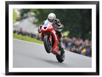 Triumph Speed Triple Championship, Framed Mounted Print