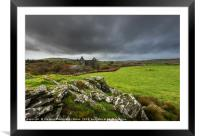 Ynyspandy Slate Mill, Snowdonia National Park, Framed Mounted Print