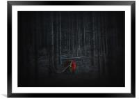 Lost, Framed Mounted Print