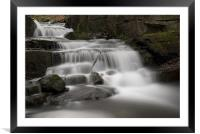 Lumsdale Valley, Matlock Derbyshire, Framed Mounted Print