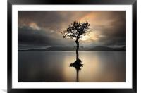 Loch Lomond Sunset, Framed Mounted Print