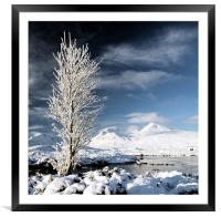 Glencoe winter, Framed Mounted Print