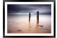 Ayrshire seascape, Framed Mounted Print
