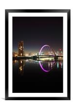 Glasgow Clyde Arc, Framed Mounted Print