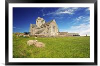 Iona Abbey, Framed Mounted Print