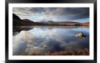 Lochan na h-Achlaise, Framed Mounted Print