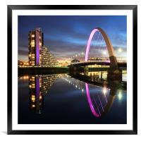 Clyde Arc, Framed Mounted Print