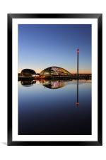 Clyde Twilight Reflections, Framed Mounted Print