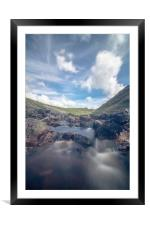 Tavy Cleave Dartmoor, Framed Mounted Print