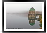 Foggy Foel Dawn, Framed Mounted Print