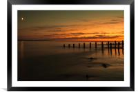 Crow Point, Framed Mounted Print