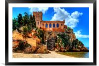 Fort Sao Joao do Arade., Framed Mounted Print