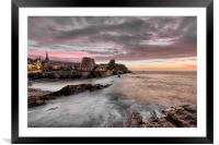Wildersmouth Beach Ilfracombe, Framed Mounted Print