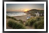 Croyde Bay North Devon., Framed Mounted Print