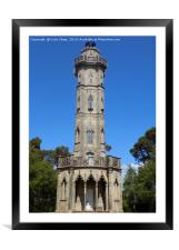 Brizlee Tower, Framed Mounted Print