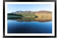 Crummock Water Reflections, Framed Mounted Print