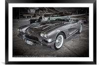 Vette 62, Framed Mounted Print