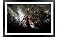 The Last Ride Is Free, Framed Mounted Print