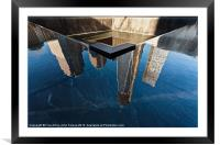 Reflections of Freedom, Framed Mounted Print