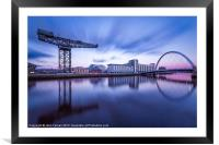 Scotland Finnieston Crane Glasgow, Framed Mounted Print