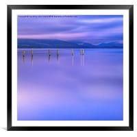 In the Realm of Giants, Framed Mounted Print