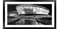 The Hydro and SECC monochrome, Framed Mounted Print