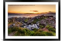 views to little cumbrae, Framed Mounted Print