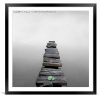 To Infinity, Framed Mounted Print