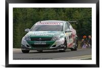 vauxhall astra touring car, Framed Mounted Print