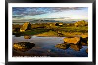 Isle of Arran View, Framed Mounted Print