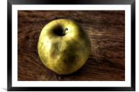 a Simple Apple, Framed Mounted Print
