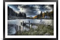 Jetty Blues, Framed Mounted Print