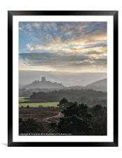 Road to the Castle, Framed Mounted Print
