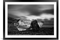 Try Again Weymouth Monotone, Framed Mounted Print