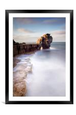 A long time standing at Pulpit Rock, Framed Mounted Print