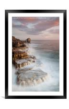 A long Way to Pulpit Rock, Framed Mounted Print