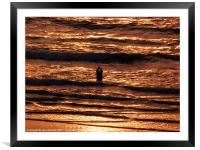 Time to say ..., Framed Mounted Print