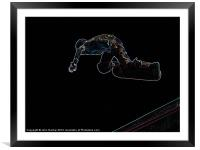 The Jump, Framed Mounted Print