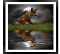 The lookout., Framed Mounted Print