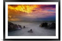 All the elements, Framed Mounted Print