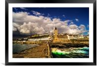 Welcome to Cornwall, Framed Mounted Print